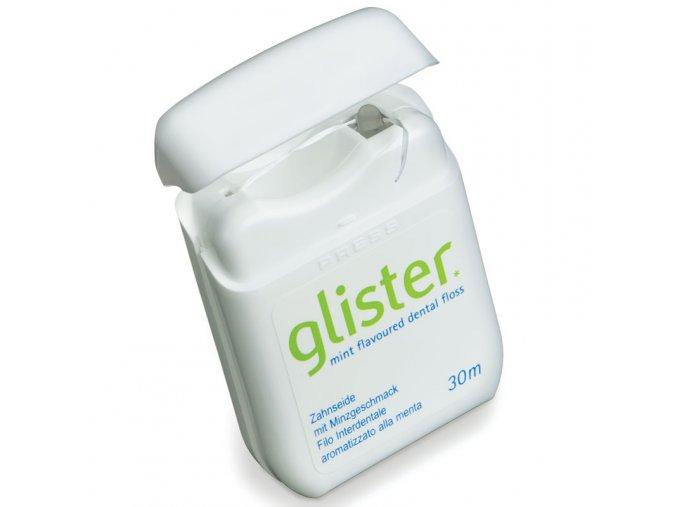 Zubní nit s příchutí máty GLISTER™ 30 m
