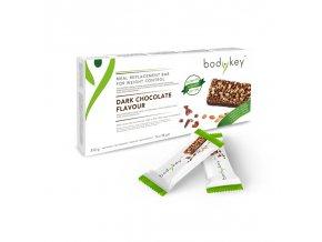 bodykey by NUTRILITE™ TYČINKA s chutí hořké čokolády 14 x 58 g