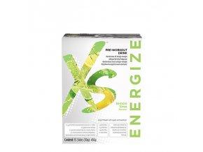 XS™ Pre-Workout Drink s příchutí citronu a limetky 15 x 30 g