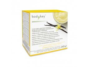NUTRILITE™ Krémový koktejl se sníženým obsahem sacharidů - příchuť vanilky bodykey™ 14x24,5 g
