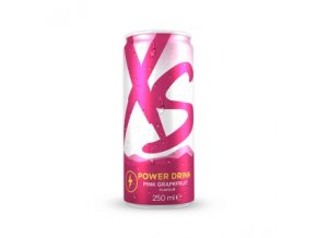 Power Drink Pink Grapefruit Blast - grapefruitová příchuť XS™ 12x250 ml