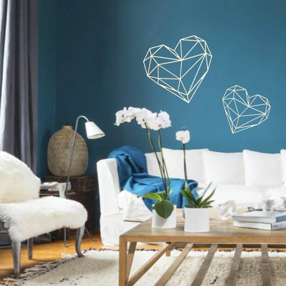 Dřevěná dekorace Srdce na zeď 40 cm