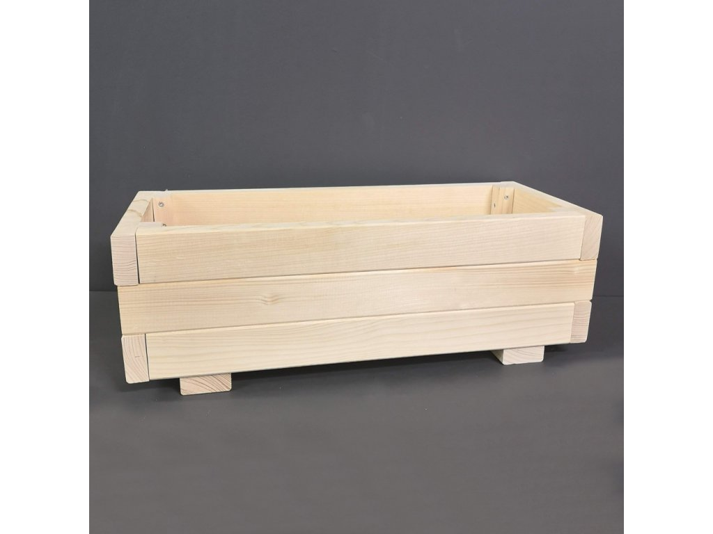 Dřevěné koryto na truhlík