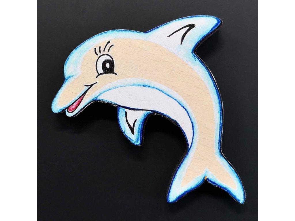 Magnet delfín 6 cm