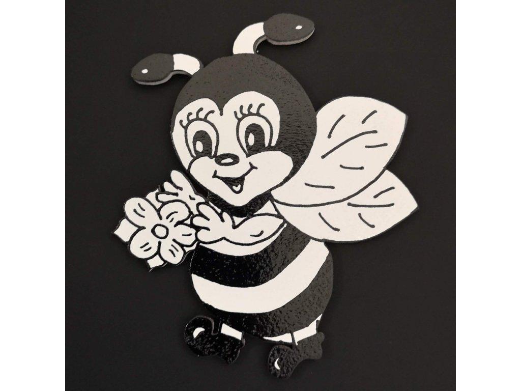 Magnet k domalování včelka 10 cm