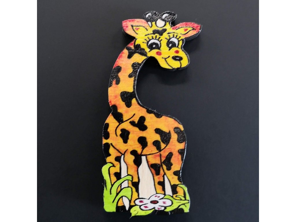 Magnet žirafa 6 cm