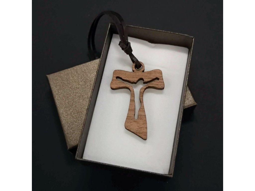 křížek přívěsek na krk