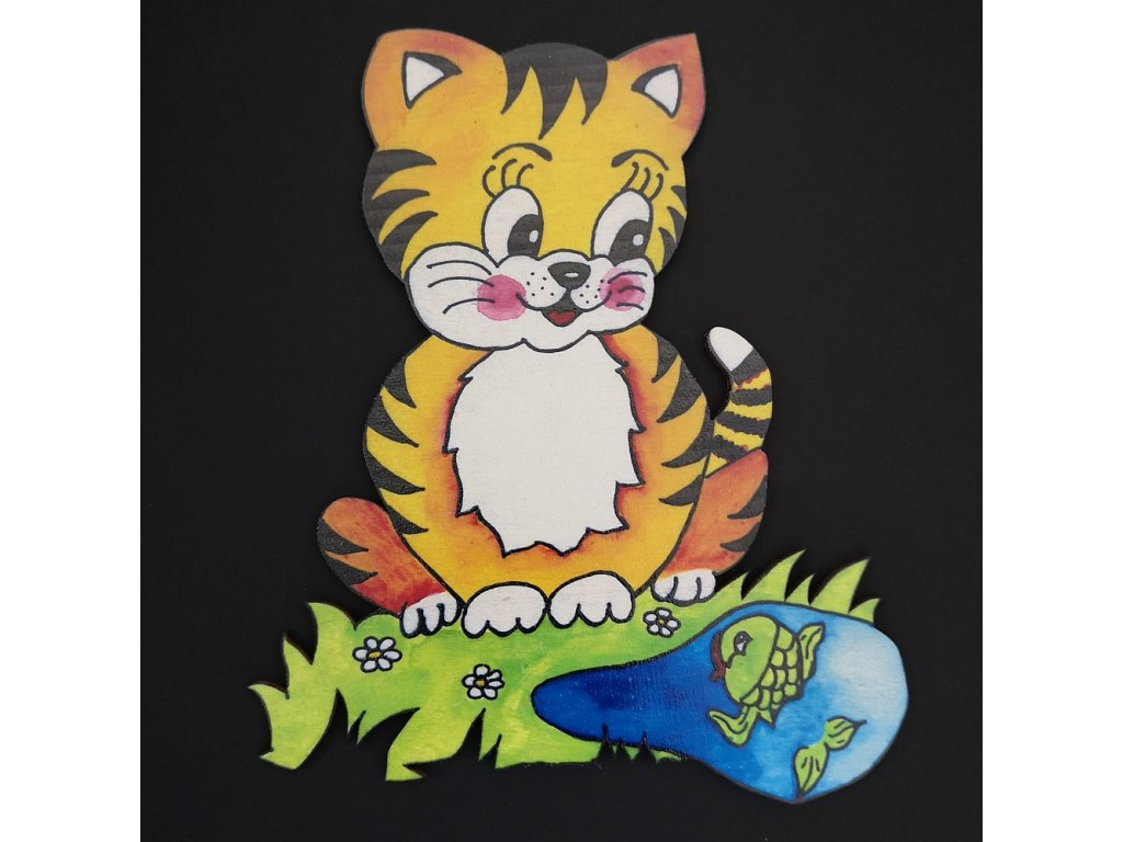 Magnet kočka 20 cm