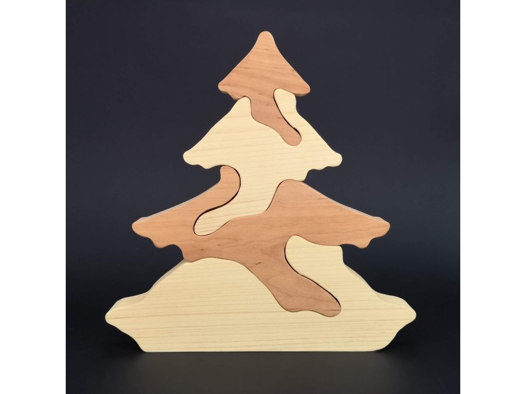 Puzzle strom 25 cm