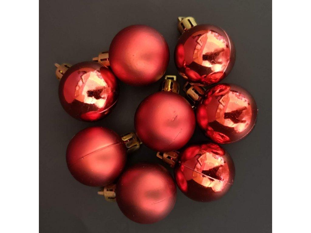Náhradní koule červené 8 ks