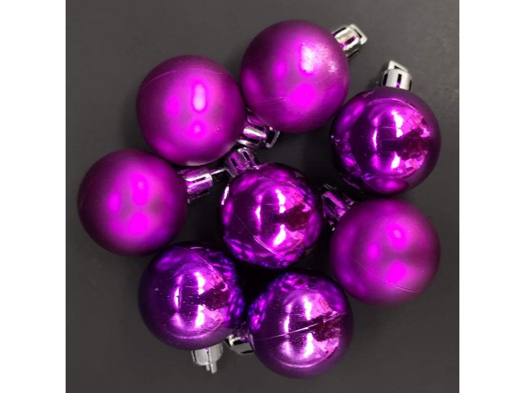 Náhradní koule fialové 8 ks
