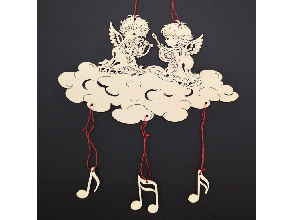 Vánoční dekorace - andělé