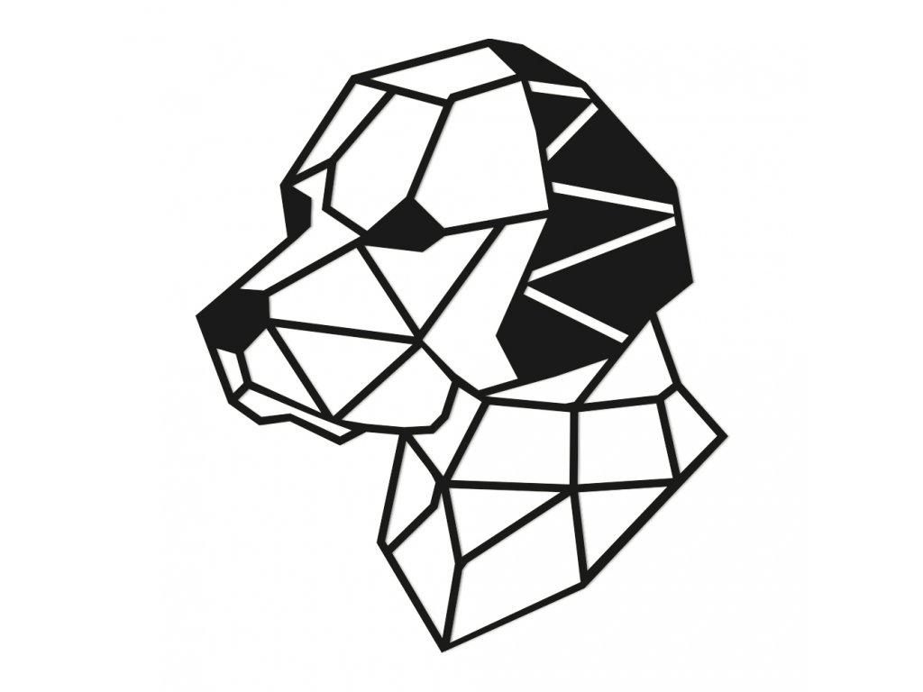 dřevěná dekorace pes