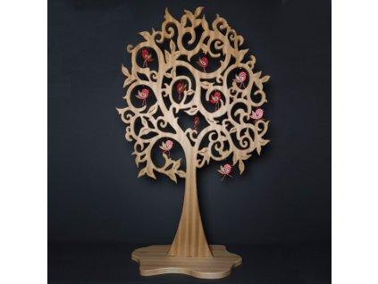 37309 Strom s ptáčky 157,7x98cm, 4740 Kč, € 190