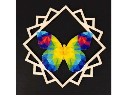 38607 Motýl pestrobarevný