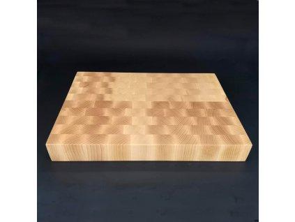 Dřevěné řeznické prkénko skládané, masivní dřevo, 29,5x39,5x5 cm