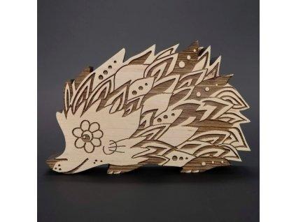 Dřevěný ježek