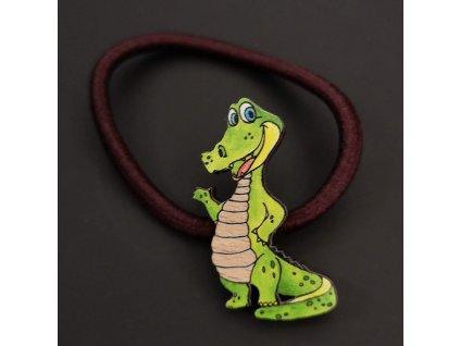 Gumička krokodýl