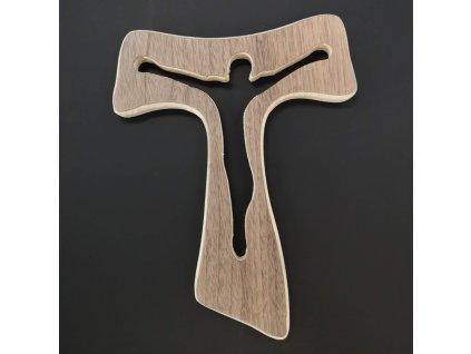 Dřevěný kříž 20 cm