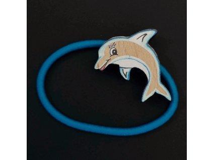Gumička delfín