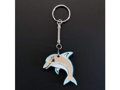 Klíčenka delfín 4 cm