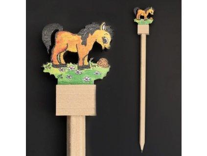 Tužka kůň hnědý