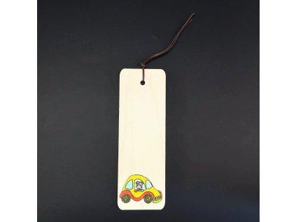 Záložka auto 15 cm