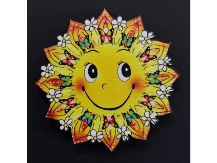 Magnet slunce 6 cm