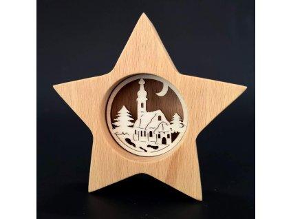 Vánoční dekorace - hvězda