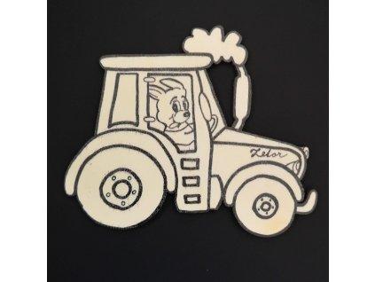 Magnet k domalování traktor 10 cm