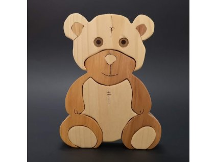 Puzzle medvěd 15 cm
