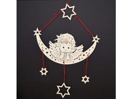 Vánoční dekorace - anděl