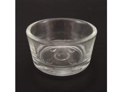 Skleněný kalíšek na čajovou svíčku