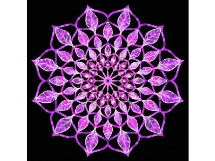 35730 Mandala fialová 9cm