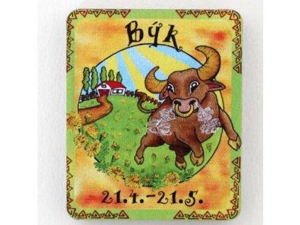 Magnet znamení býk 4 cm