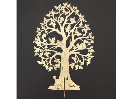 3D dřevěný strom