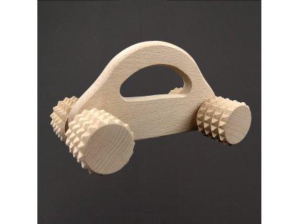 dřevěný masážní váleček
