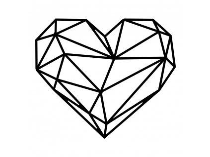 dřevěné srdce