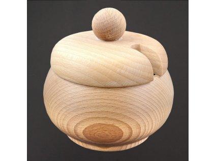 dřevěná cukřenka