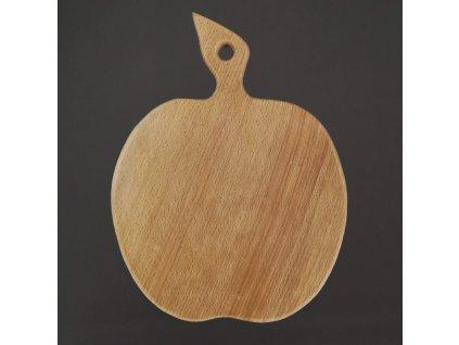 dřevěné  prkénko jablko