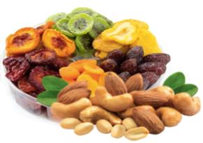 Ořechy a suché plody