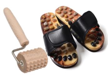 Masážní, akupresurní a rehabilitační pomůcky