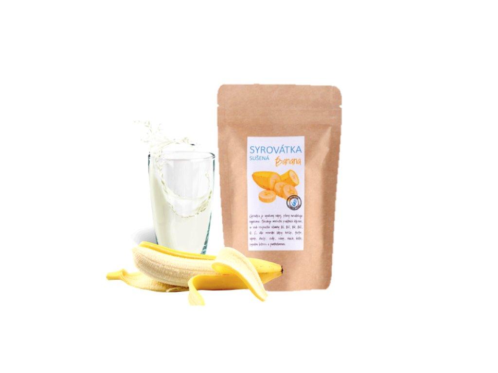 syrovátka banán a