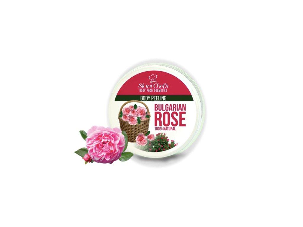 peeling růže