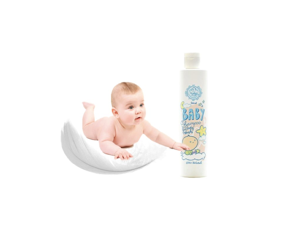 Baby přírodní mýdlo a