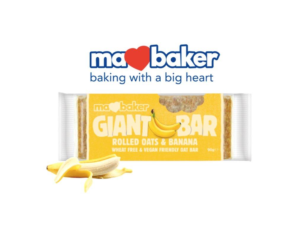 obří banán a