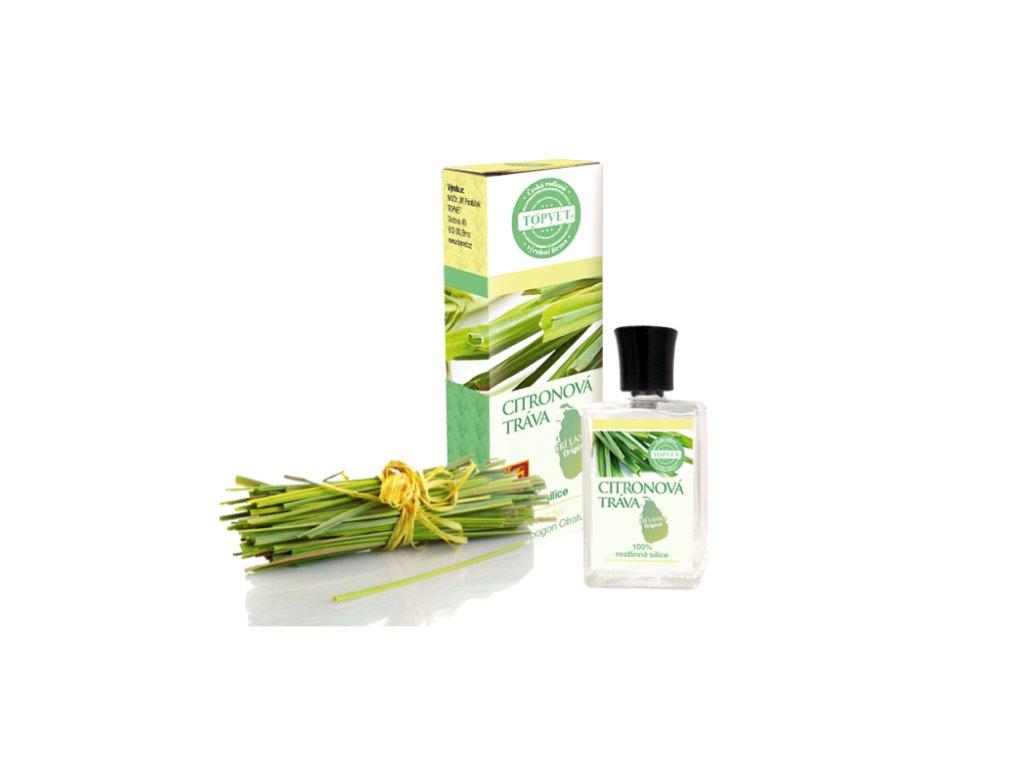 silice citronová tráva