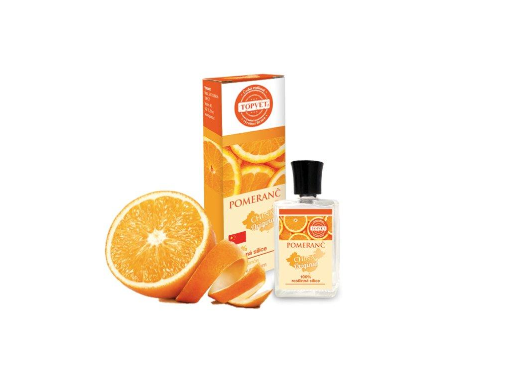 silice pomeranč