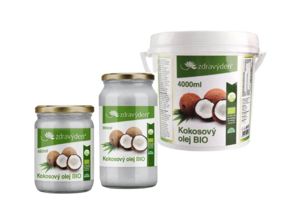BIO Kokosový olej Zdravý den®
