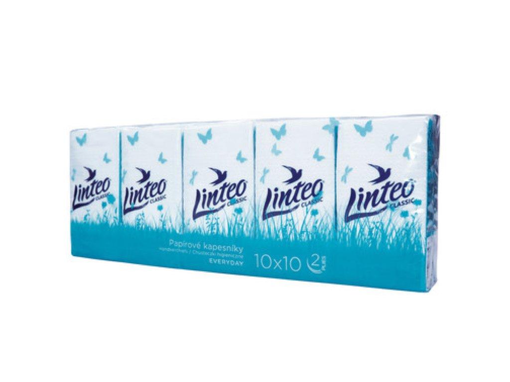 kapesníčky linteo classic 10x10 ks